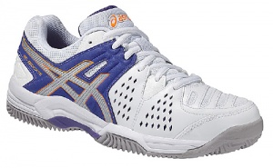 ASICS tennisschoenen Gel-Dedicate 4 Clay dames wit