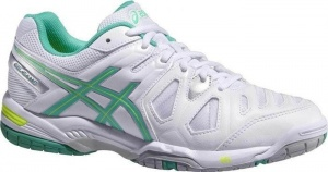 ASICS tennisschoenen Gel Game 5 dames wit/groen