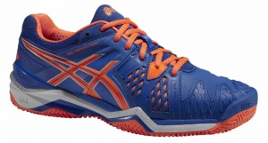 ASICS Tennisschoenen Gel Resolution 6 Clay heren blauw