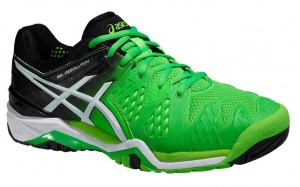 ASICS Tennisschoenen Gel Resolution 6 heren groen