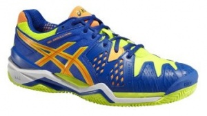 ASICS Tennisschoenen Gel Resolution Clay 6 heren blauw