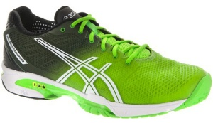 ASICS tennisschoenen Gel Solution Speed heren gr/zw
