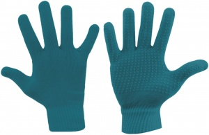 Avento gloves Jaimy knitted unisex turquoise