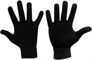 Avento gloves Jaimy knitted unisex black