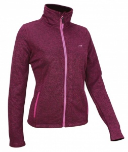 Avento Outdoorjack Fleece Dames Paars