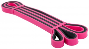 Avento Powerband Latex Light roze