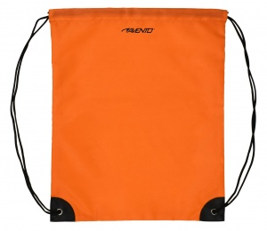 Avento sac à dos avec cordons coulissants fluor orange universel