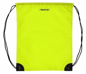 Avento Backpack With Pull Cords Universal Yellow
