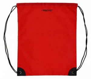 Avento Backpack With Pull Cords Universal Red