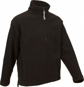 Avento Skipulli Micro Fleece Junior Zwart