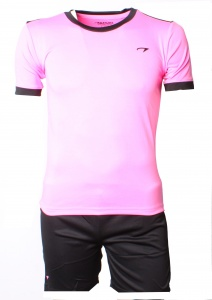 Avento Sportset Madrid Junior roze-zwart
