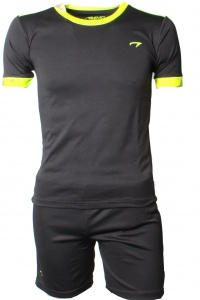 Avento Sportset Madrid Junior zwart-geel