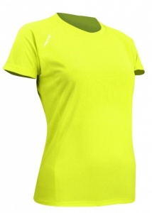 Avento sportshirt ladies fluorescent yellow