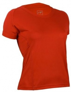 Avento Sport Shirt tailored ladies Red