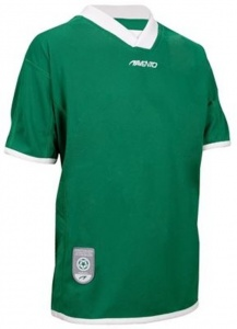 Avento Sports Short Sleeve Shirt Green Junior