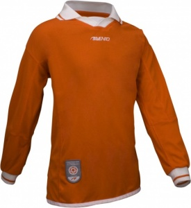 Avento Sport Long Sleeve Shirt Junior Orange / White