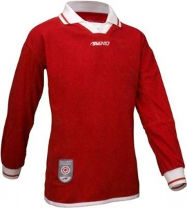 Avento Sport Long Sleeve Shirt Size Junior Red 110/116