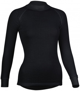 Avento thermo shirt long sleeves ladies black 2-Pack