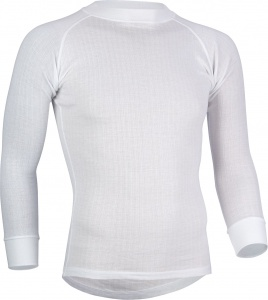 Avento thermoshirt lange mouwen heren wit 2-Pack