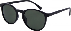 AZ-Eyewear sunglasses BASICcat. 3 matt black/green (76-B)