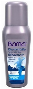 Bama Repairman color for shoes 75 ml white