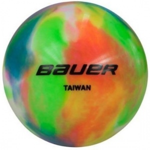 Bauer hockeybal 65 mm multicolor