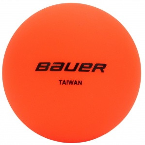 Bauer hockeybal warm weather oranje