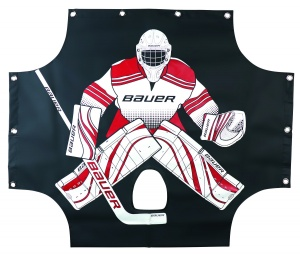 Bauer trainingswand Pro Sharp Shooter zwart 137 x 112 cm
