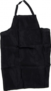 BBQ Collection barbecue apron unisex black size L/XL