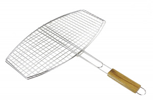 BBQ Collection grill grid barbecue 45 x 25 cm oval silver