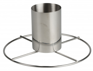 BBQ Collection tipping grid 20 x 10 cm stainless steel silver