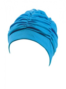 Beco badmuts dames stof turquoise