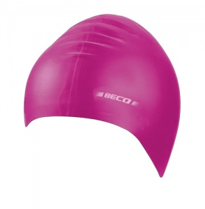 Beco badmuts latex dames roze one size