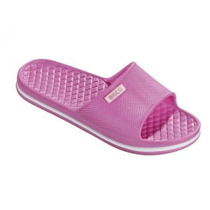 Beco badslippers soft roze dames