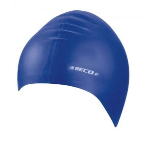 Beco children's bathing cap latex junior blue one size
