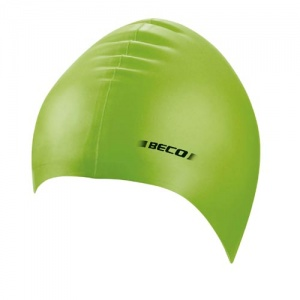 Beco children's bathing cap latex junior green one size