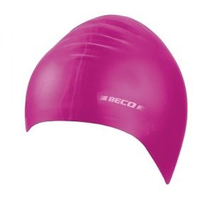 Beco children's bathing cap latex junior pink one size