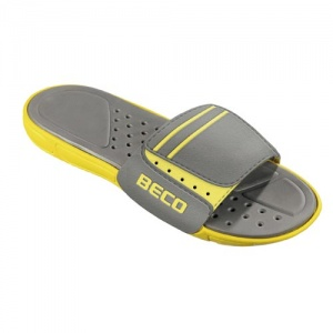 Beco slippers heren geel