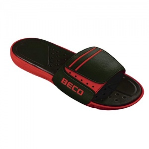 Beco slippers heren rood