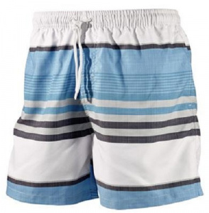 Beco swimming trunks men polyester turquoise/white