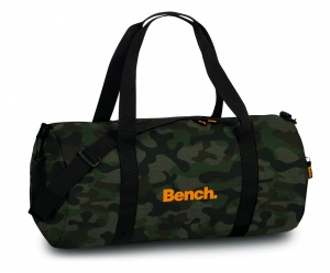 Bench travel bag 35 litres camouflage green/brown