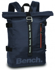 Bench roll-top backpack 19 liter donkerblauw