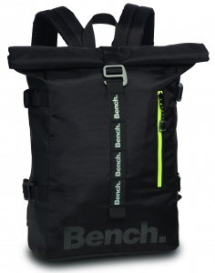 Bench roll-top backpack 19 liter zwart