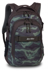 Bestway Evolution Air Rucksack 22 Liter olivgrün/khaki
