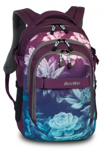Bestway Evolution Air Rucksack 22 Liter lila/blau
