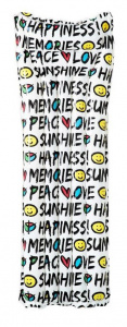 Bestway luchtbed Summer Quotes 183 x 69 cm PVC wit