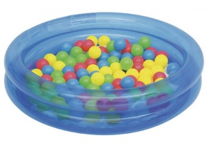 Bestway inflatable pool 91 cm with 50 balls