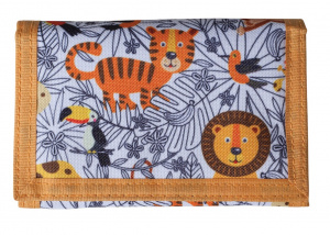 Bestway wallet lion junior 14 x 9 cm polyester orange