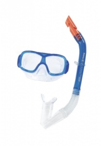 Bestway snorkelset Pike junior 2-delig blauw