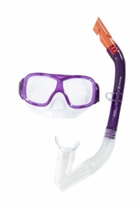 Bestway snorkelset Pike junior 2-delig paars